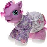мягкая игтерактивная пони my little pony hasbro File Petal-dove