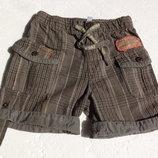 Испанские шорты из хлопка на 12 месяцев, годик.