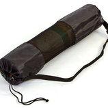 Чехол для коврика по йоге/фитнесу сетчатый 5375 размер 70х16см оксфорд