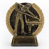 Награда спортивная бильярд 3195 статуэтка наградная бильярдист 11,5х12х4 см