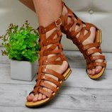 Шикарные Босоножки Высокие Римские Сандали Мода Года- Супер Турция 39 размер