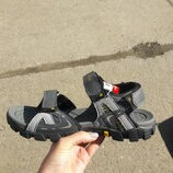 Мужские сандалии steiner 41-46р серые с желтым