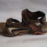 Мужские сандалии steiner 41-46р коричневые