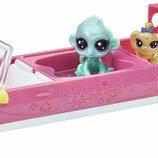 Littlest Pet Shop Игровой набор Лимузин с фигурками Stylin' Stretch Limo Set
