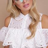 Блузка с прошвы блуза женская