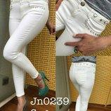 Белые джинсы Sogo 29 размер