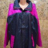 Куртка вітровка великого розміру. Унісекс