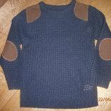 Синий свите Ребел на 6-7 лет, рост 116-122