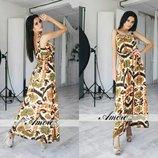 платье Ткань штапель, подкладка Размеры 46, 48, 50, 52
