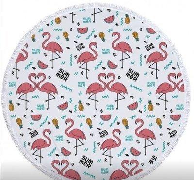 Пляжный коврик Фламинго Sum mer
