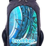 Рюкзак с принтом Twitter hashtag твиттер хештег купить городской рюкзак