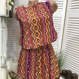 Туника-Платье штапель размер универсальный 40-46
