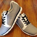 Мужские немецкие туфли-кроссовки,мокасины Gabor.Размер 45-46 11 ,ессо