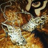 Поделитьсяпоказать список поделившихся Леопардовые босоножки на каблуке в наличии