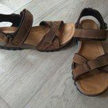 Кожаные босоножки сандалии Clarks отл.сост