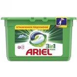 Капсула для прання Ariel Pods 3 в 1 Гірське Джерело 13 шт