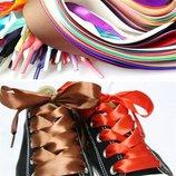 Шнурки атласные
