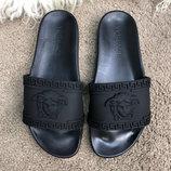 Шлепанцы Versace Slide Sandal Medusa Black