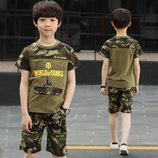 Камуфляж Летний костюм комплект милитари на мальчика