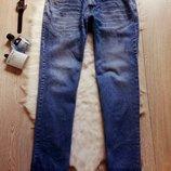 Идеальные мужские синие плотные джинсы прямые классические голубые