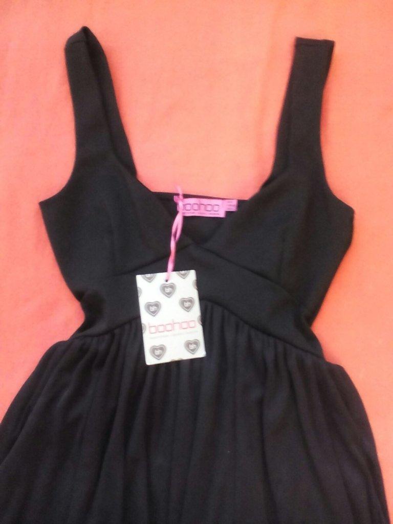 0e3a475f9ae Продано  Идеальное Черное Маленькое Платье От BOOHOO - сарафаны boohoo в  Львове