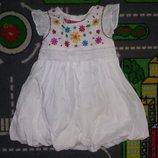 Лето Легкое Обалденное платье-сарафан M&S. Выглядит стильно и очень нарядно