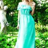 Платье Ткань евро шифон Длина платья 146 см