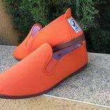 Женская удобная обувь из текстиля, лёгкая, аромотезированные. Испания