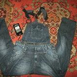 комбинезоны джинсы 27-34 размеры
