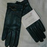 перчатки женские кожа новая