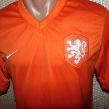 Спортивная фирменная футболка оригинал Nike зб Голандии .xs-s