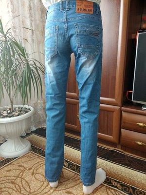 Летние джинсы Jrokko на высокого изящного парня Размер 29