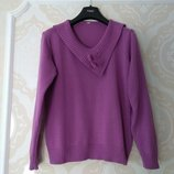 Размер 14 Яркий фирменный свитер