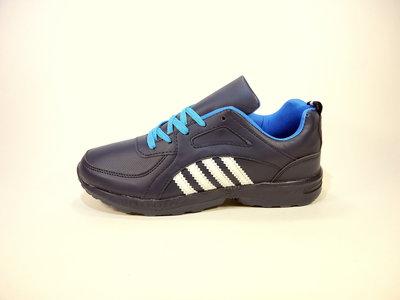 Кроссовки мужские синие, легкие, беговые. Размер 41-45.