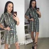 Платье-Рубашка Ткань,рубашка р-р S,M,L.