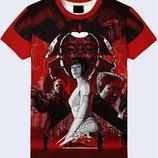 Мужская футболка 3D Motoko Большой выбор