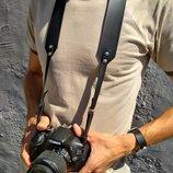 Нашейный, плечевой ремень для фотоаппарата из кожи