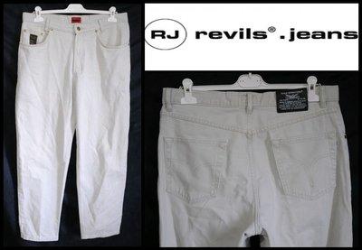 Брендові штани джинсові чоловічі Revils International W35 L30 брюки мужские джинсы