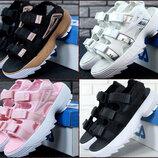 FILA Disruptor Sandals, женские сандали Фила красные