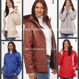 42-60 Женская демисезонная куртка, капюшон. женская курточка. весна осень. куртка недорого, большие