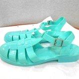 Яркие и стильные силиконовые босоножки сандалии желейки New Look, р.39-40 код L4001