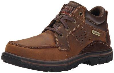 Мужские кожаные ботинки Skechers USA7-2W, 25см Сша, оригинал.