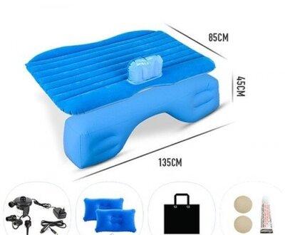 Автомобильный матрас с насосом - надувная кровать для автомобиля