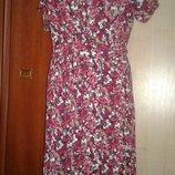 Платье трикотажное..Стильное милое