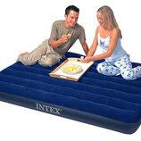 Двухместный надувной матрас Intex