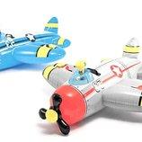 Детский надувной плотик Самолет