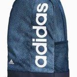 Черный меланжевый рюкзак с трилистником adidas Originals