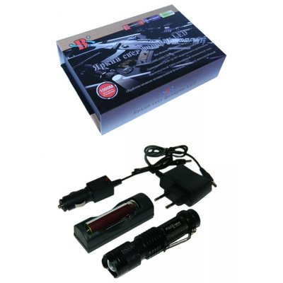 Ліхтарик тактичний X-Balog акумуляторний