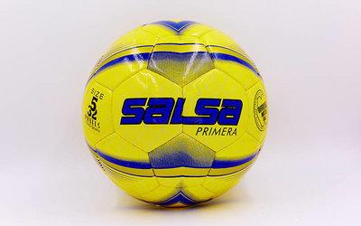 Мяч футбольный профессиональный 5 Salsa 4237 сшит вручную, PU