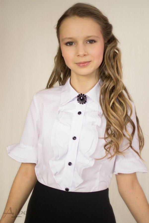 5859b74ef6b Продано  Наличие распродажа Albero 128 белая блузка рубашка школьная форма  - школьная форма в Харькове